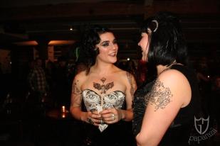 Lola Frost & Delilah Diabolic mingle post show.