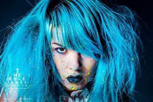 splatter paint Kyle James Patrick ziicka (4)